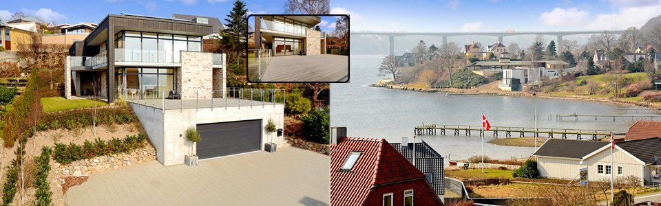 Liebhaverbolig Vejle Fjord
