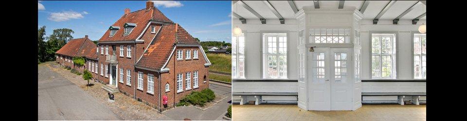 Strandgrund sydfyn - villa, sommerhus, bolig/erhverv, to-familier